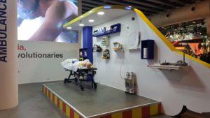 Crónica del MWC19: ambulancia equipada con 5G